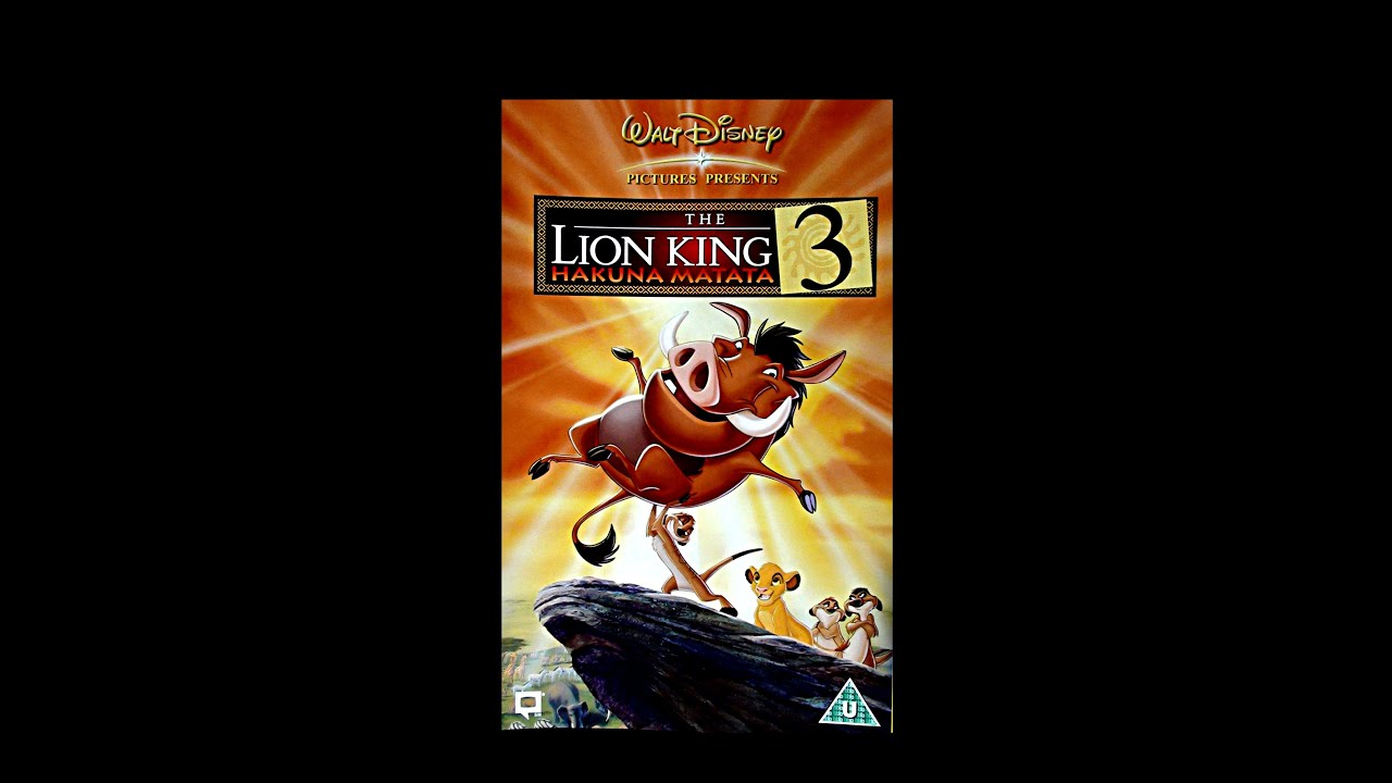 the lion king uk vhs