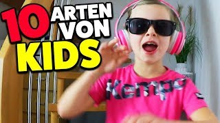 10 ARTEN von Kindern - Lulu & Leon - Family and Fun