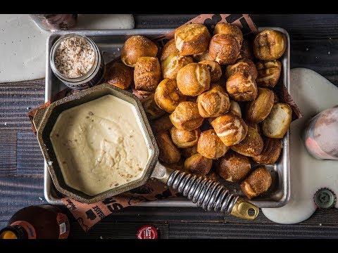Baked Pretzel Bites and Beer Cheese Dip   Traeger Wood Pellet Grills