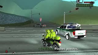 GTA SA- Policía de Colombia - Unidad Motorizada