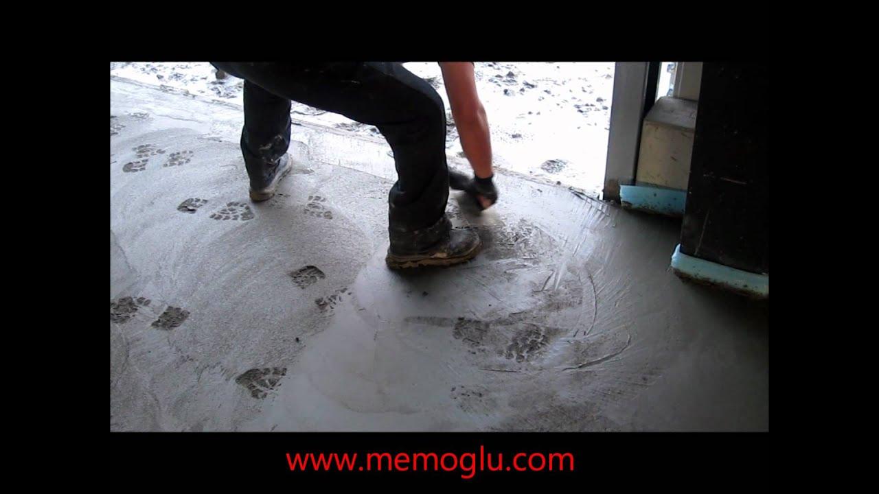 MEMOGLU BETONTECHNIK Betonglätten 2500m² - YouTube