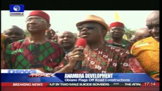 Anambra Governor Obiano Flags Off Road Construction