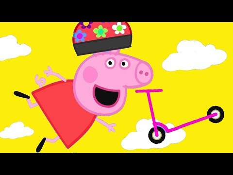 Peppa Pig Official Channel | Peppa Pig Loves Scooter