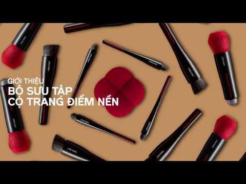 Bộ sưu tập Cọ Trang Điểm Nền Shiseido