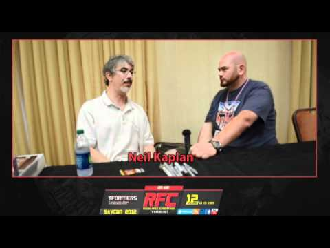 Neil Kaplan (Robots in Disguise Optimus Prime) Interview from Savcon 2012