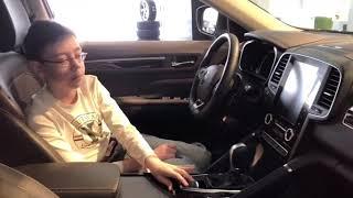рено Колеос в 2019 -Интерьер, цены, мультимедиа.Renault Koleos Interior, Exterior