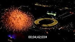 Pyronale 2019 am Olympiastadion in Berlin, Deutschland