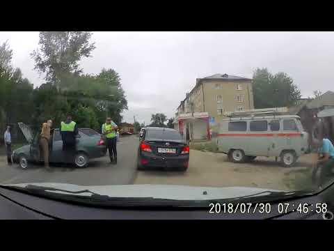 дтп кузнецк 30.07.2018г