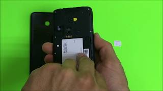 How to install SD and SIM card into Alcatel OneTouch Pixi Avion LTE