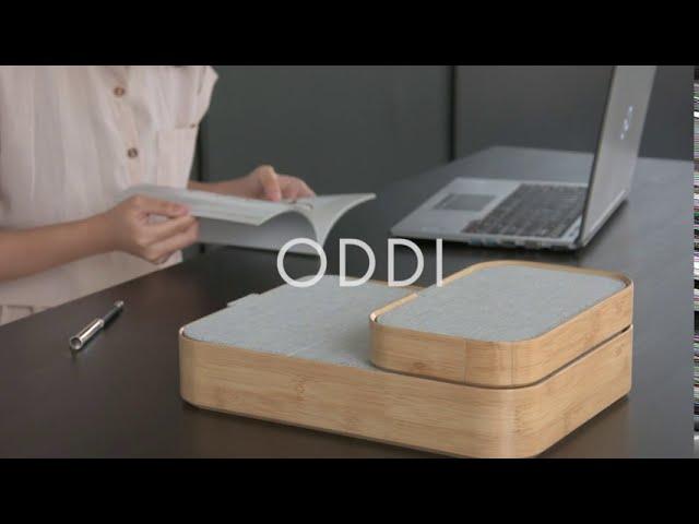Classy Desktop Storage