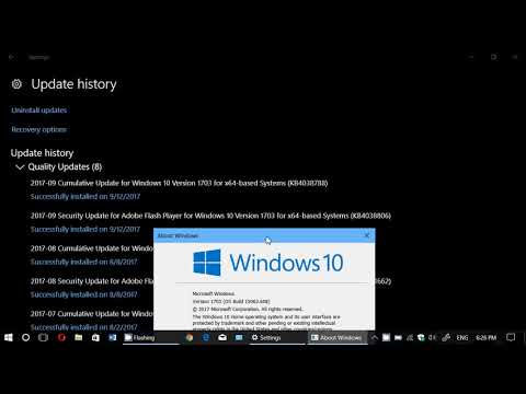 Microsoft Windows Security updates Patch Tuesday September 12th 2017 Many Critical fixes