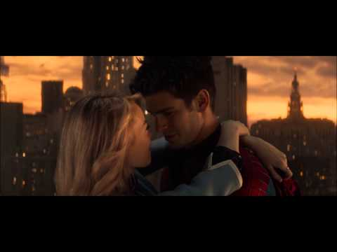 "The Amazing Spiderman 2 Kiss Scene : ""You are my path..."""