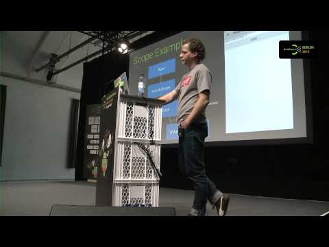 #droidconDE 2015: Thorben Primke – An alternative to fragments: Say Hello to Mortar & Flow