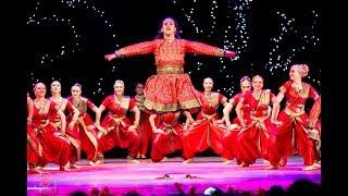 Malhari | Bajirao Mastani | Marathi dance | Amrita (Moscow)