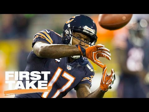 Alshon Jeffery Full Interview On ESPN's First Take | First Take | March 23, 2017