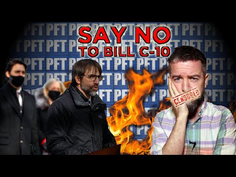 CENSORSHIP ON STEROIDS: The TRUTH About BILL C-10 And The Great CANADIAN INTERNET FIREWALL!!!