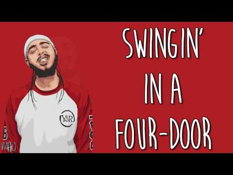 Post Malone - No Option (With Lyrics)