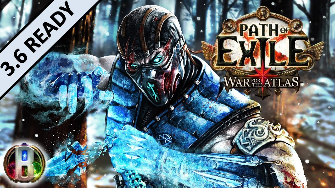 3 6 Bloodseeker Frost Blades Champion Duelist Path Of Exile War For The Atlas Synthesis Youtube