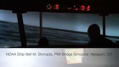 NOAA Ship Bell M. Shimada, PMI Bridge Simulator, Newport, OR