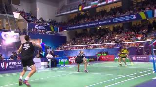 Repeat youtube video F - 2014 French Open - Tontowi Ahmad-Liliyana Natsir vs Chris Adcock-Gabrielle Adcock