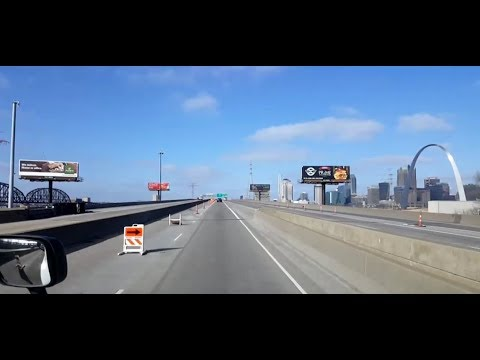 BigRigTravels LIVE! Troy, Illinois to Danville, Missouri Interstate 70 & 64 West-Jan. 24, 2018
