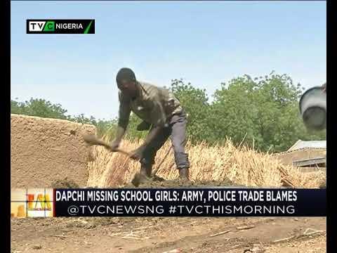 This Morning 27th Feb. 2018 | #Dapchigirls Abduction: Military, Police trade Blames