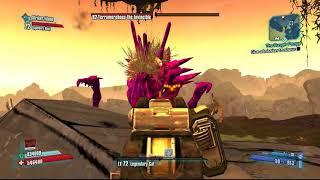Borderlands 2 | Maya and Zer0 vs OP8 Terramorphous (with StrikerZidane)
