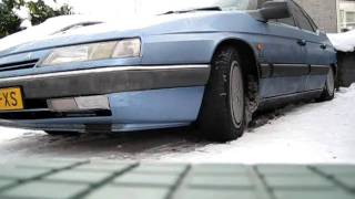 Cold start and rising up to normal position Citroen XM