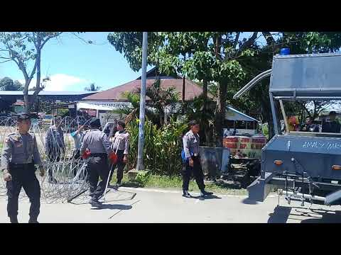 Suasana Pengamanan Panwaslu Palopo