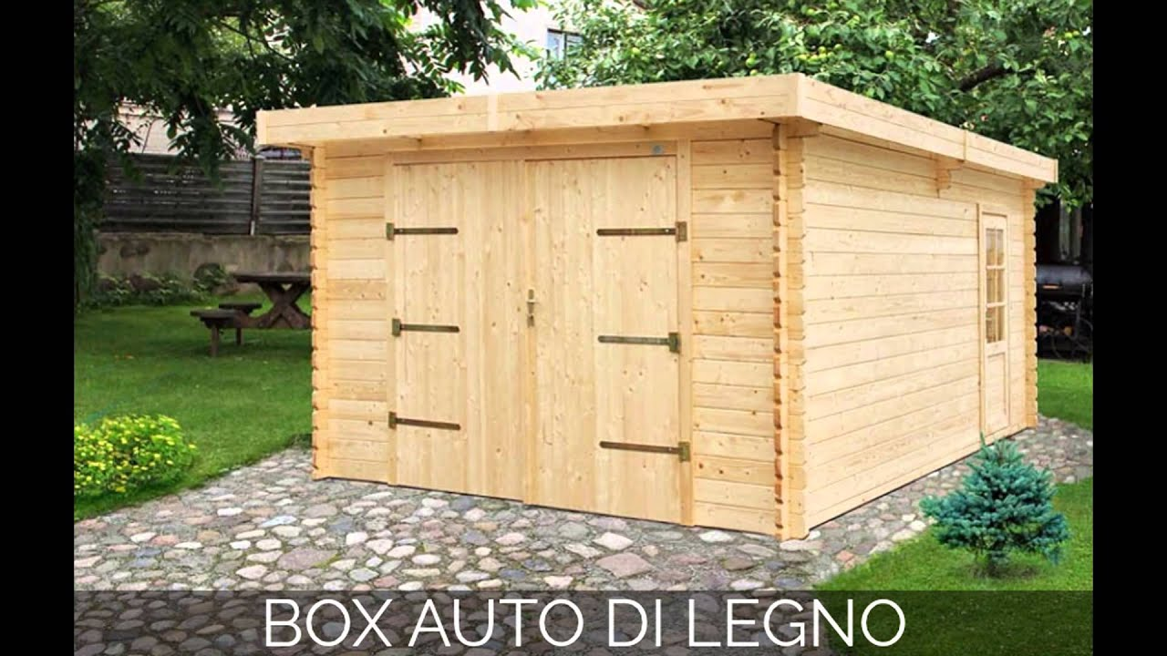 Box auto di legno box auto legno box auto in legno youtube for Due box auto