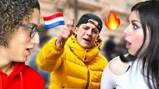 REACTING TO DUTCH RAP WITH MY GIRLFRIEND!
