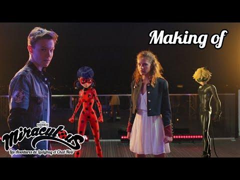 MIRACULOUS 🐞 LOU & LENNI KIM - Making Of Clip Video  🐞 Les Aventures De Ladybug Et Chat Noir