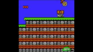 Bonk's Adventure (NES) Part 1 - Prehistoric Blockhead