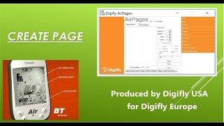 Digifly الهواء BT: AirPages إنشاء صفحة