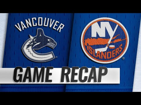 Kuhnhackl scores twice to lead Islanders past Canucks