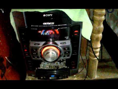 Mi equipo de sonido con amplificador