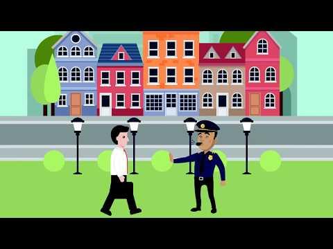 видео: Правовой видеоролик Административное задержание в РК