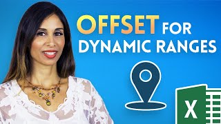 excel offset function for dynamic calculations explained in simple steps