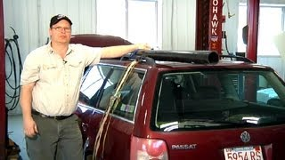 How To Haul Things On A Car Roof With Tie Down Straps : Car Repair Tips