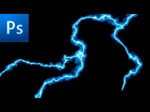 Photoshop Tutorial How To Make Lightning HD