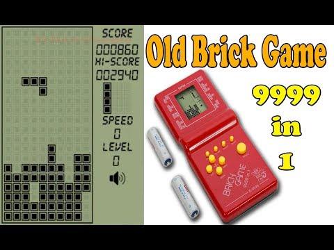 Brick Game 9999 In 1 - Real Retro Games - Brick Breaker