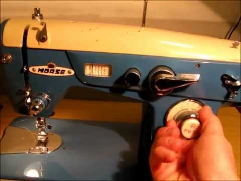 Morse DeLuxe ZigZag Sewing Machine