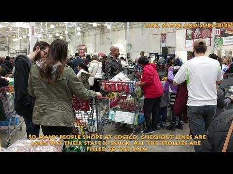 [4K] 2018 Shopping at Costco in Brampton Canada