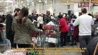 Shopping at Costco in Brampton Canada 4K