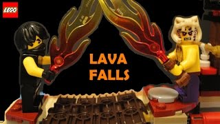Lego Ninjago Lava Falls 70753 Toy Review Season 4