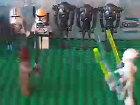 Mace windu vs grievous lego