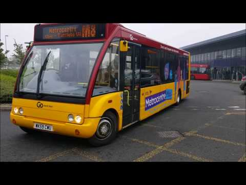 BUSES AT STANLEY: GO NORTH EAST & STANLEY TRAVEL (JULY 2017)