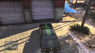 GTA V | اماكن السيارات الثلاث المطلوبه