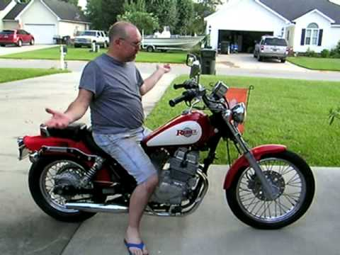 1996 honda rebel 250 running great youtube. Black Bedroom Furniture Sets. Home Design Ideas