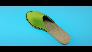 Yazlık Espadril Ayakkabı - Terlik Yapımı